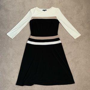 Long Sleeve Chaps Dress